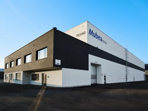 Produktionsstandort Mubea Performance Wheels Gurten